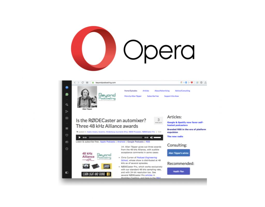 Opera browser: Why I love it beyond the common praises 1