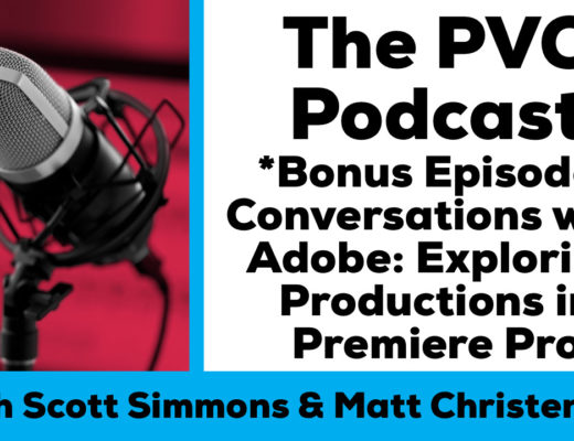PVC Podcast Bonus Eps Adobe Productions chat