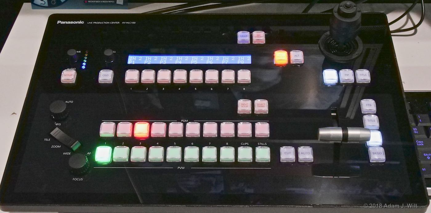 AV-HLC100 switcher