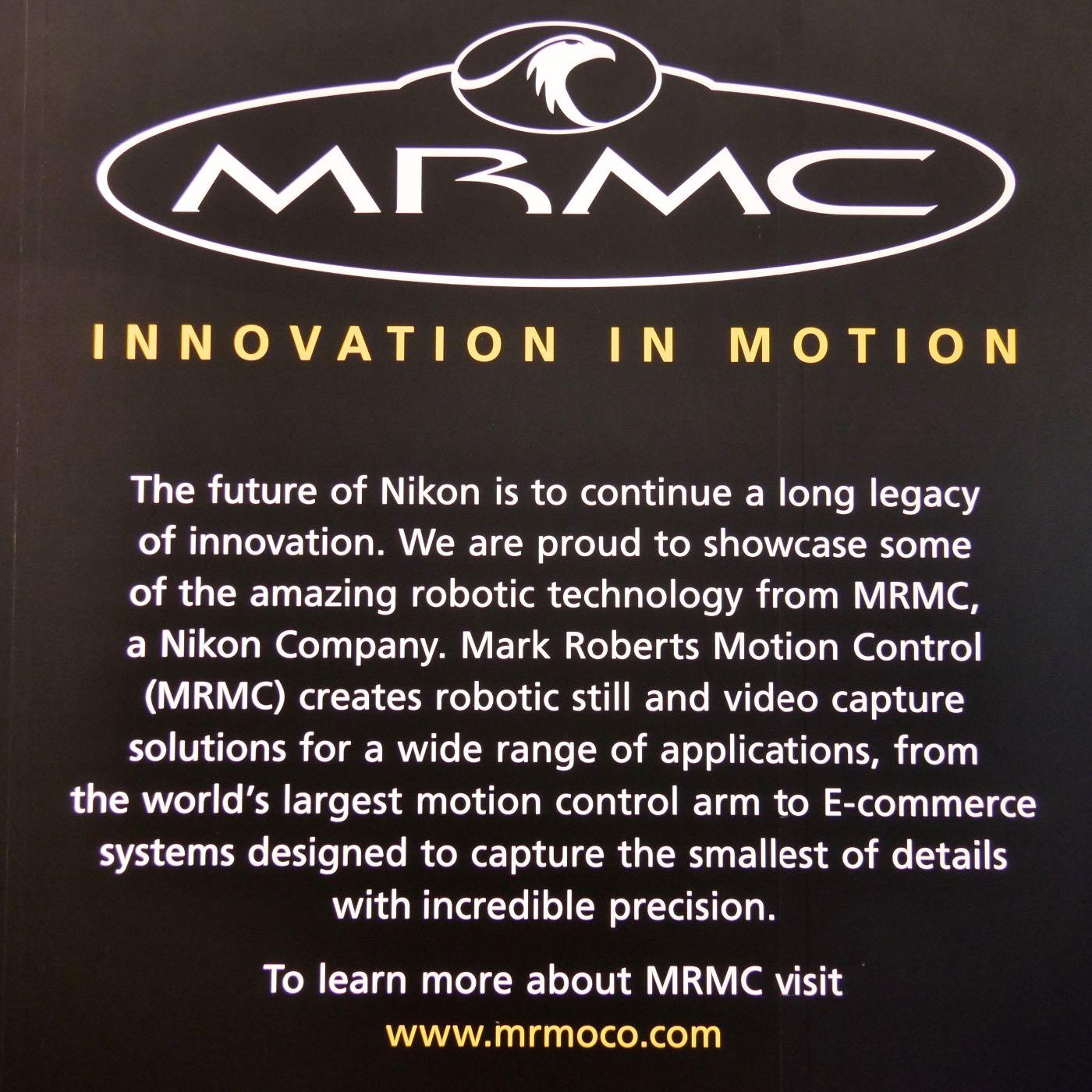 MRMC explanatory placard