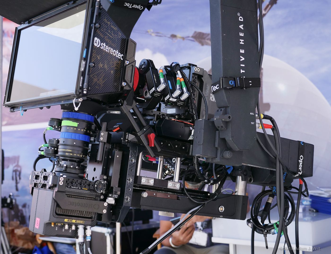 3D rig with Alexa minis