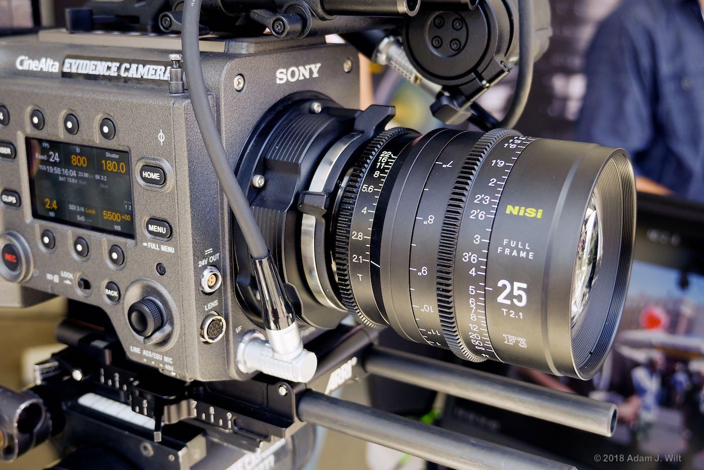NiSi F3 lens