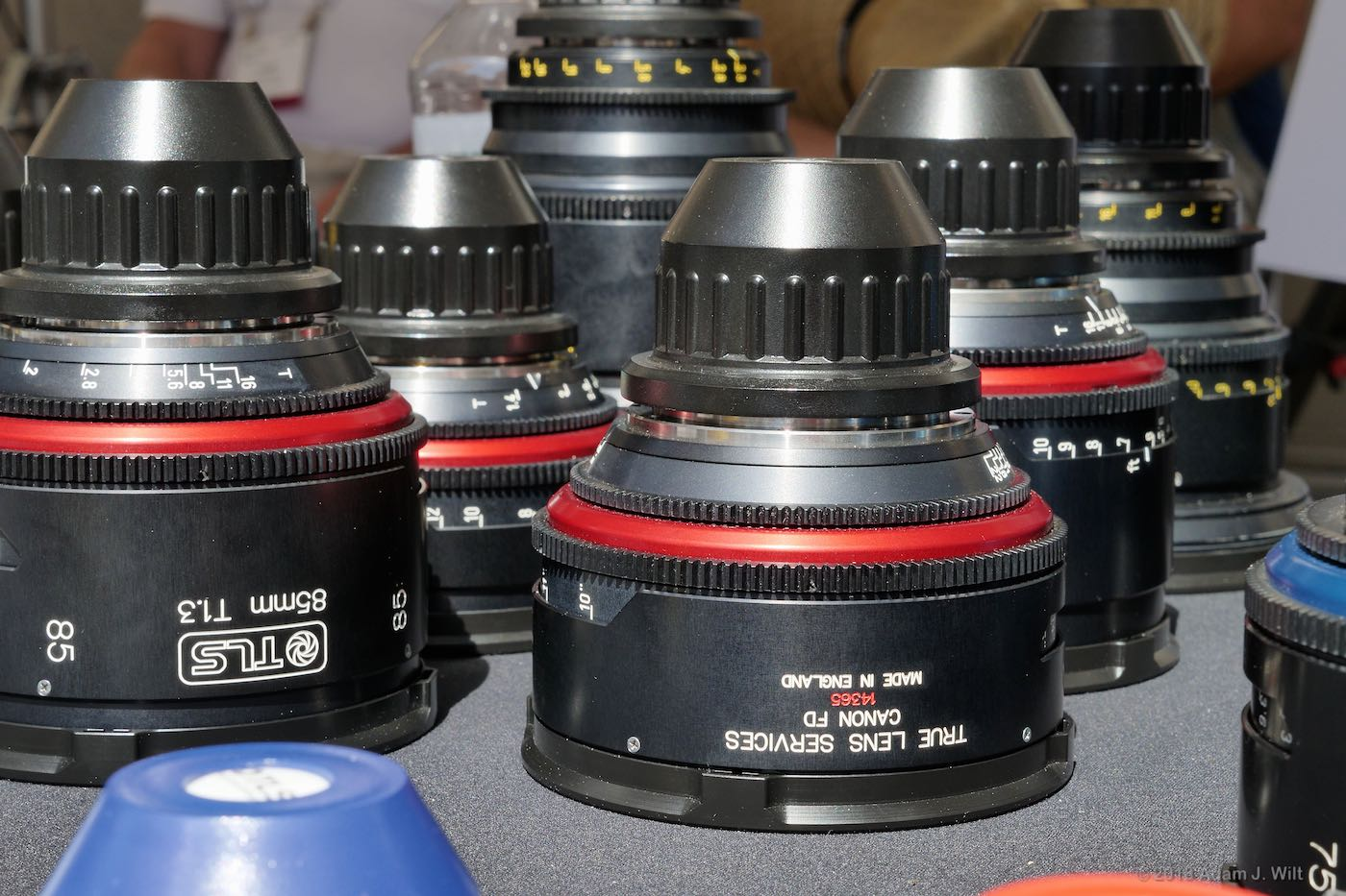 TLS rehoused lenses