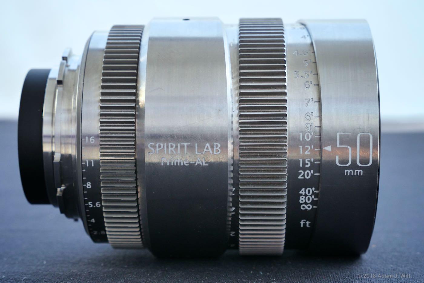 Spirit Lab 50mm