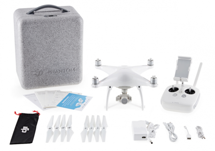 DJI Phantom 4 package