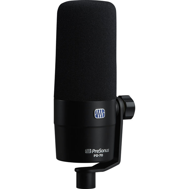 Review: PreSonus PD–70 impoppable dynamic studio microphone 16