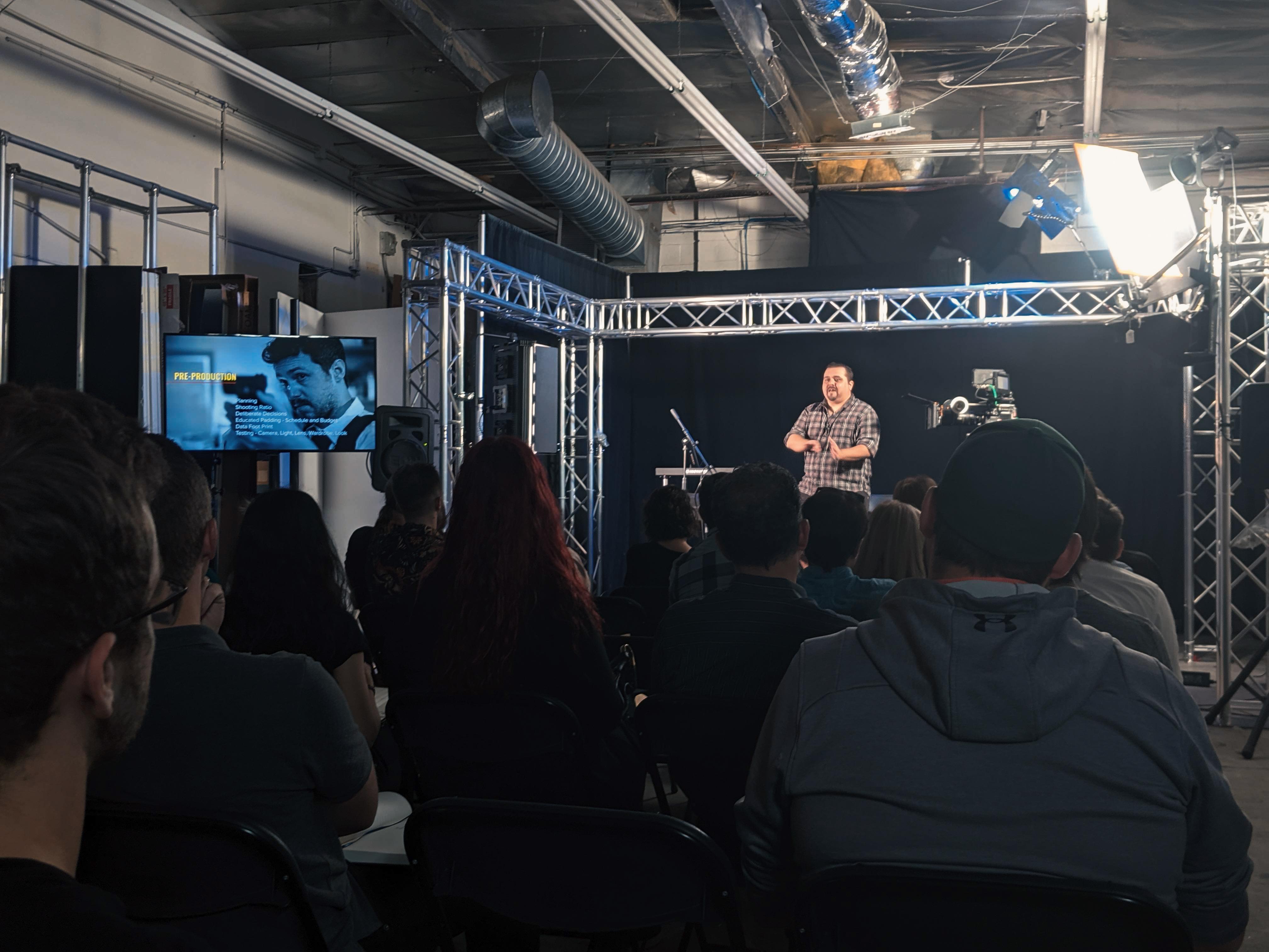 Filmtools Event Recap: Workflow for Original Streaming Content 7