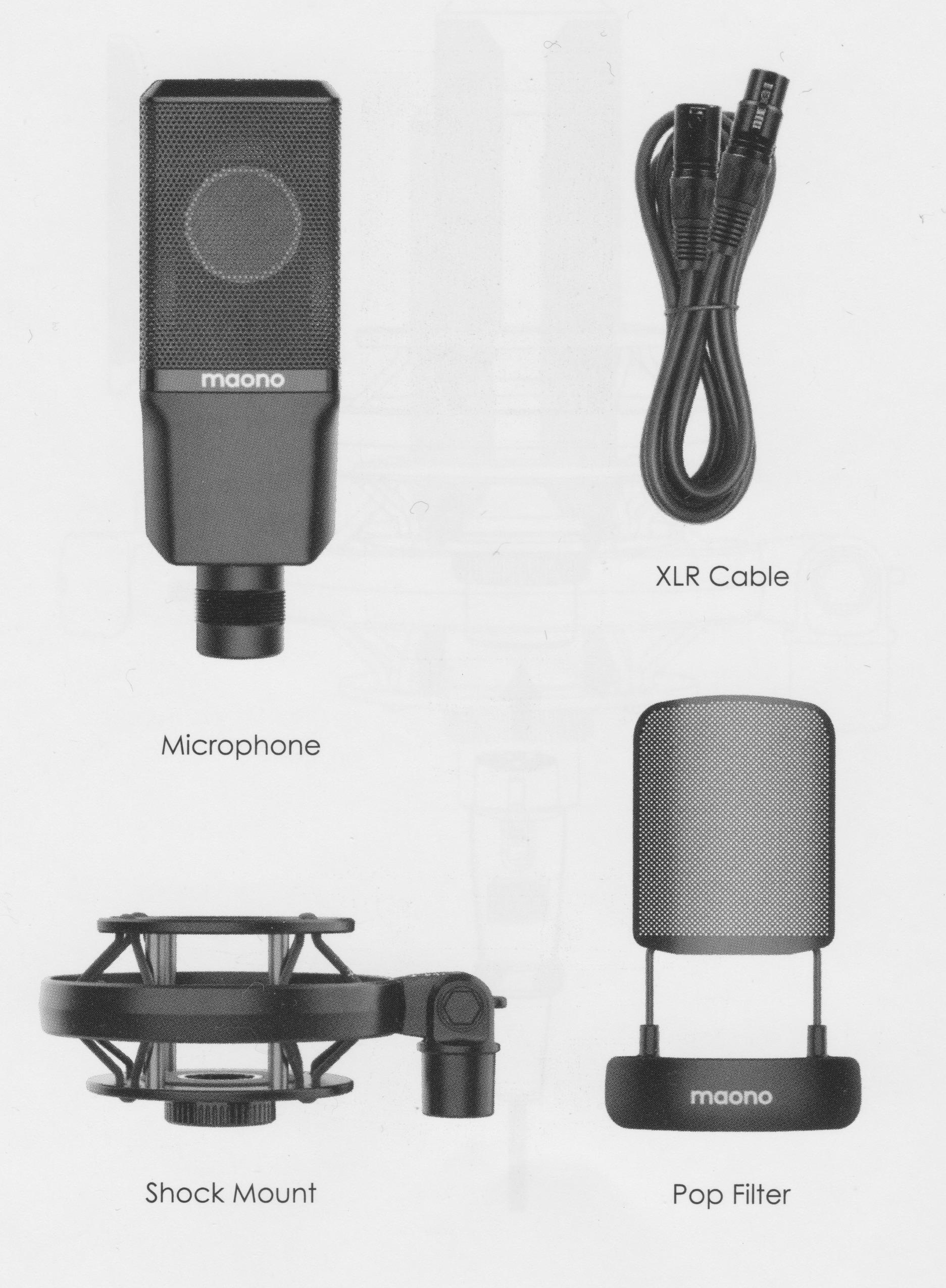 Review: Maono PM500 large-diaphragm condenser studio microphone 23