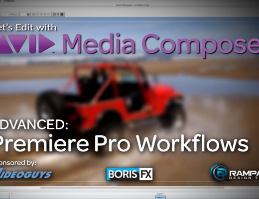 Let's Edit with Media Composer – Premiere Pro Workflows