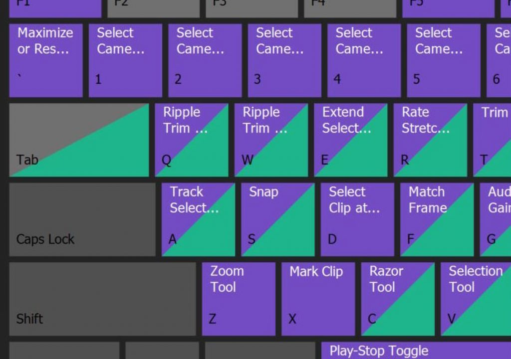 Adobe Premiere Pro IBC 2016 Reveal - Team Projects and Visual Keyboard Layout 1