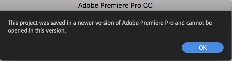 Careful updating to Adobe Premiere Pro 2020 and keeping your older Premiere versions installed 35