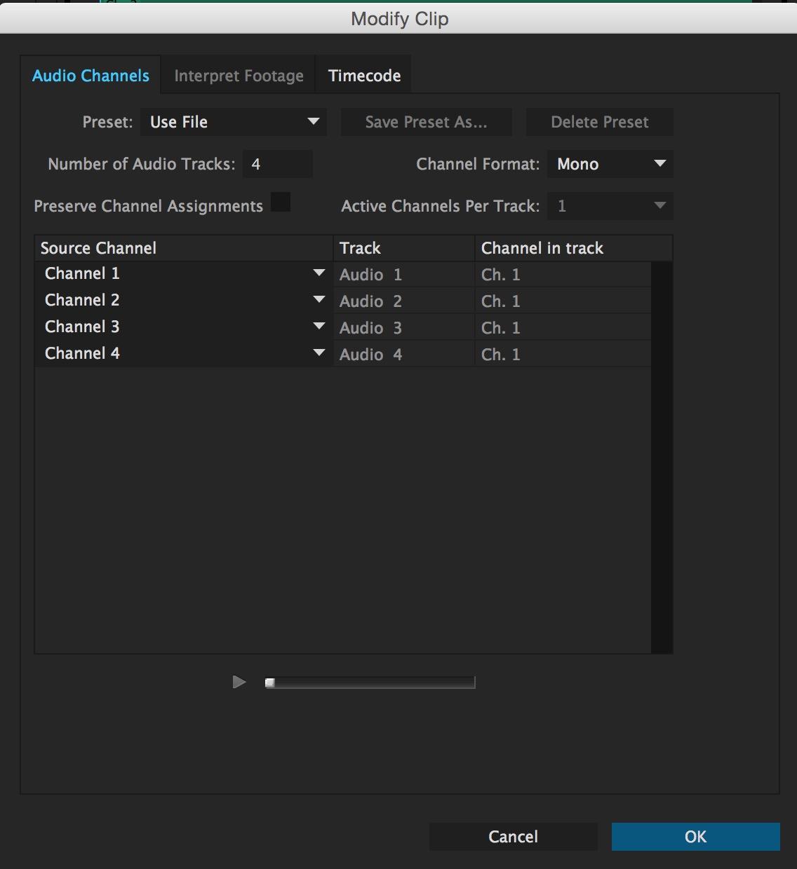 PPro NAB2015 modify audio channels matrix OLD