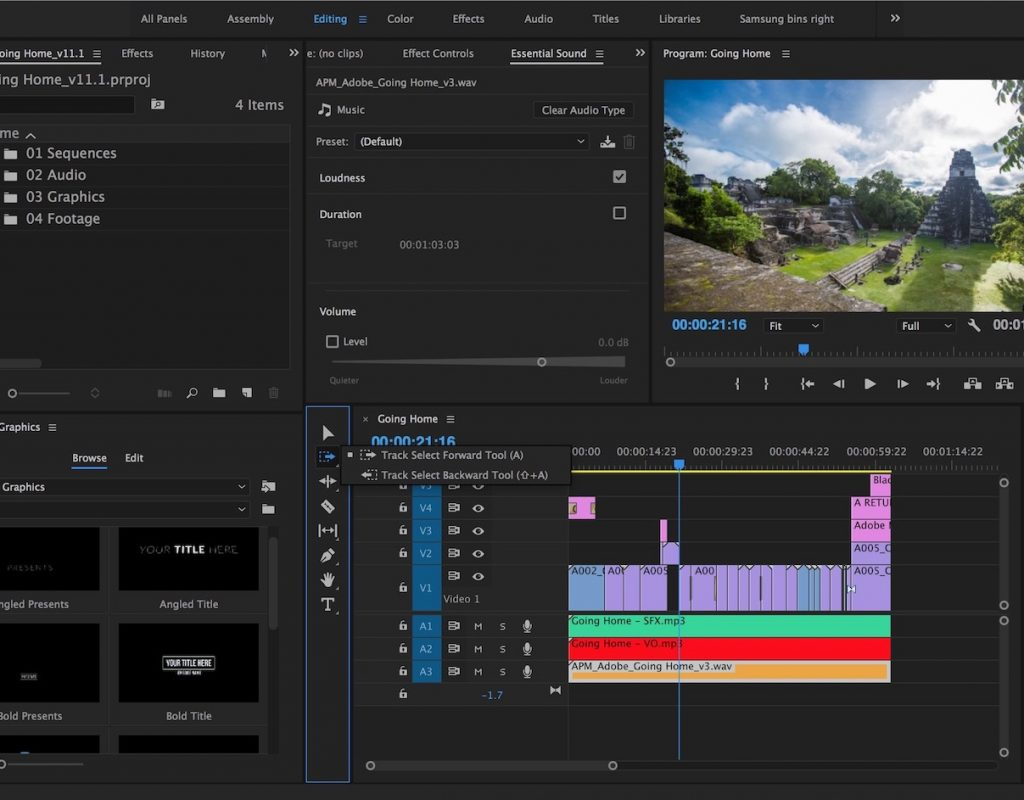 Adobe updates Premiere Pro CC for April 2017 1