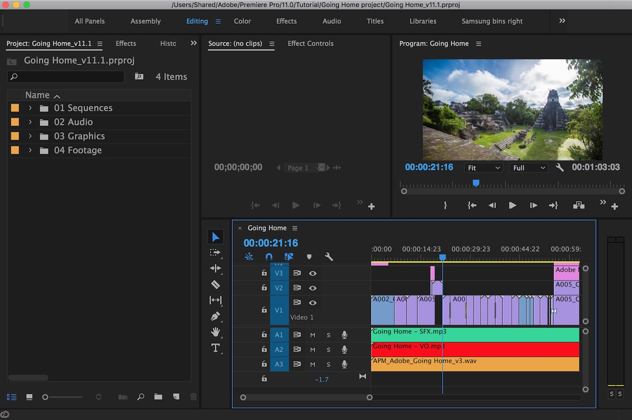 Adobe updates Premiere Pro CC for April 2017 19