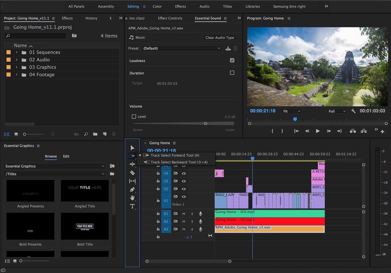 Adobe updates Premiere Pro CC for April 2017 2