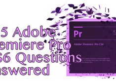 105 Adobe Premiere Pro CS6 Questions Answered