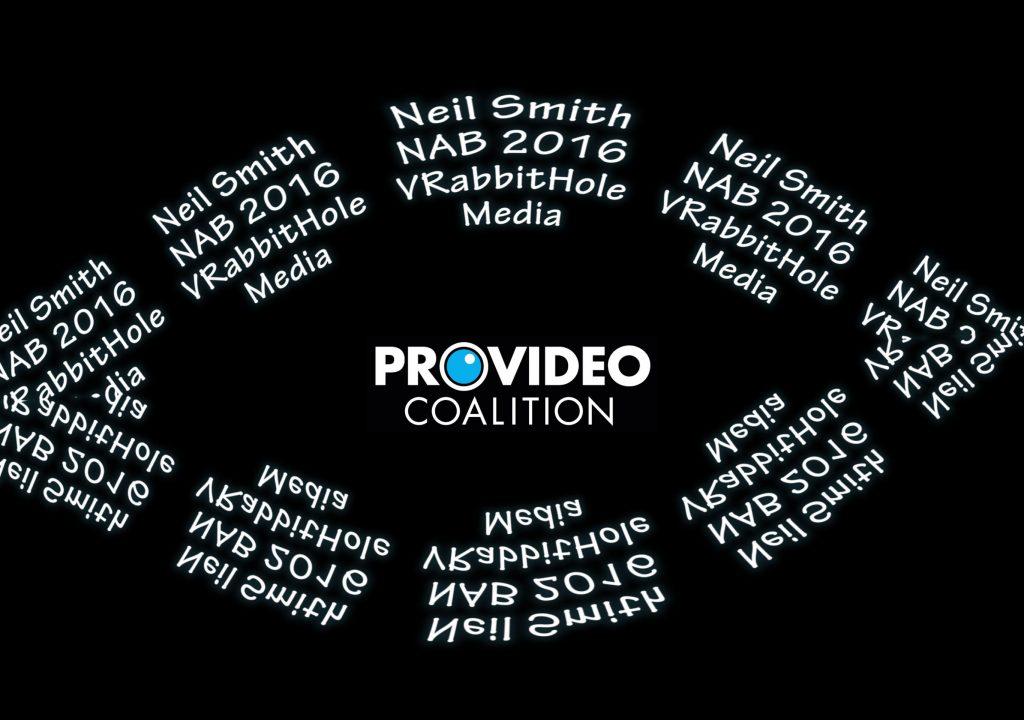 NAB 360º video reports - VR at NAB 2016 2