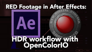 Using EXRs and DWA in After Effects 8