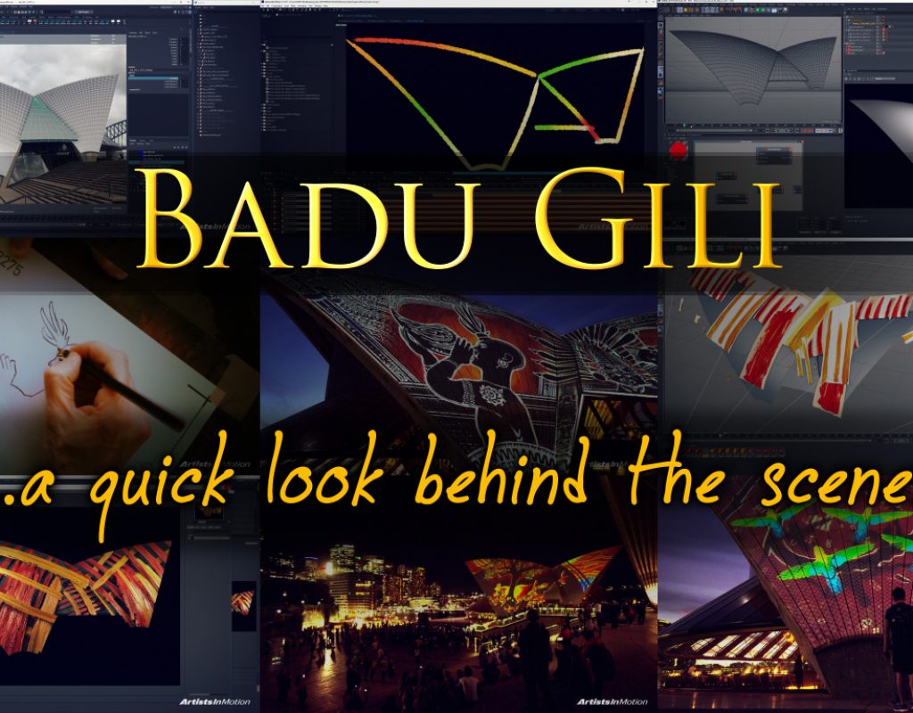 Badu Gili - Behind the scenes 1