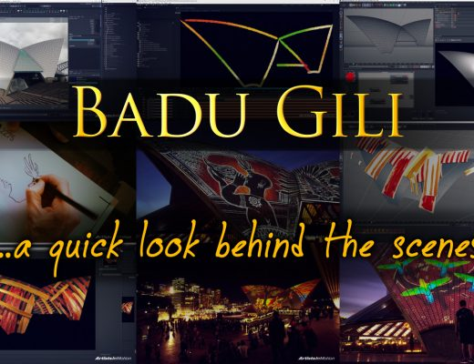Badu Gili - Behind the scenes 3