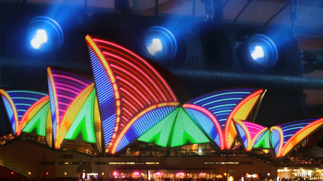 Bigger, brighter, bolder - the evolution of large scale video projection 7
