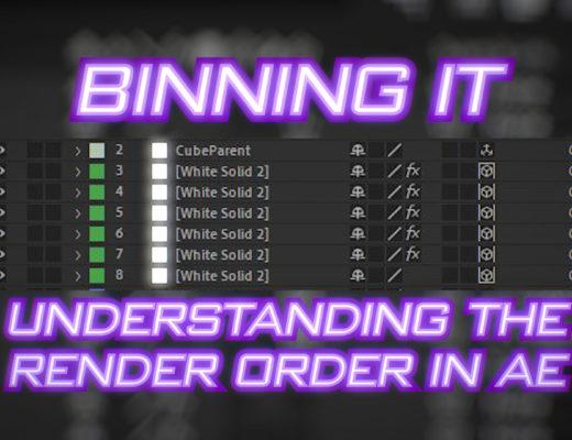 Binning it: Understanding layer rendering order in After Effects 7