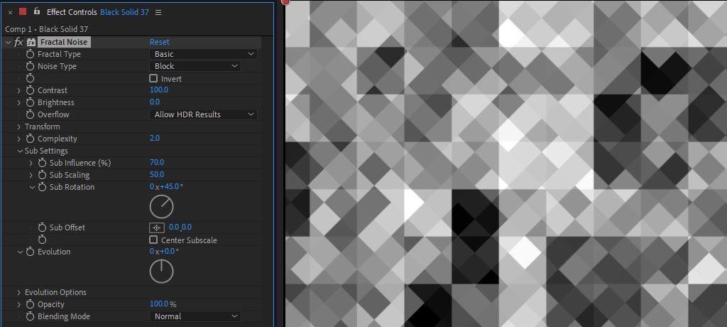 Fractal Noise: Advanced analysis of After Effects most versatile plugin 56