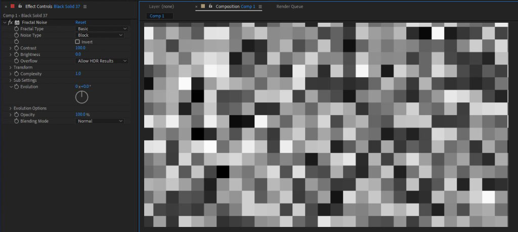 Fractal Noise: Advanced analysis of After Effects most versatile plugin 46