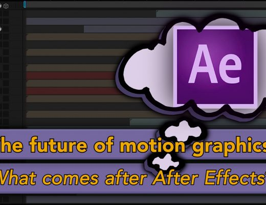 Thoughts on AE: What's after After Effects? 5