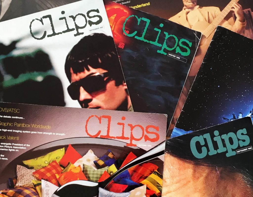 """Some clips from Quantel's """"Clips"""" 1"""