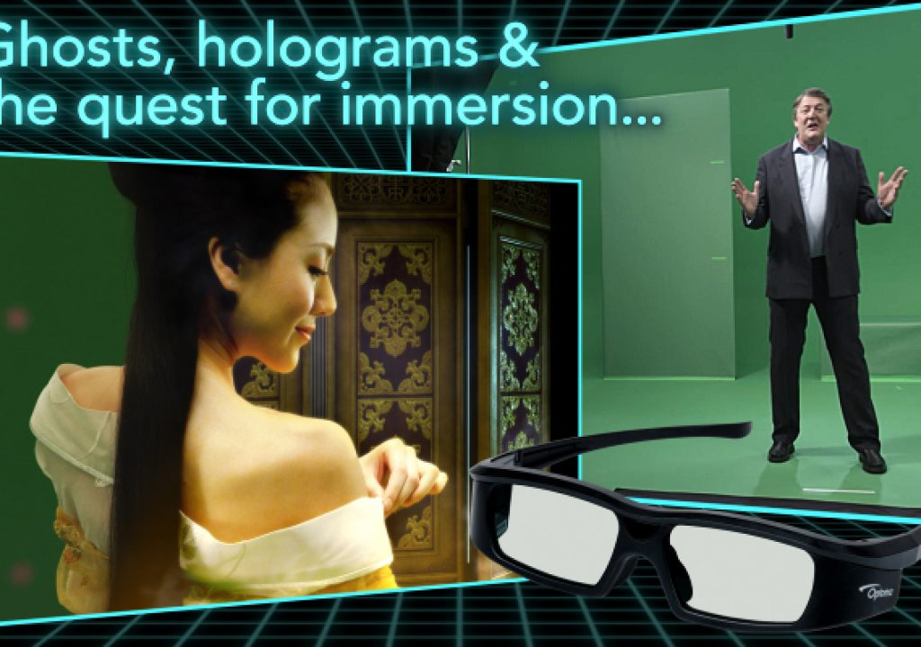 Ghosts, holograms, and the quest for immersion 1