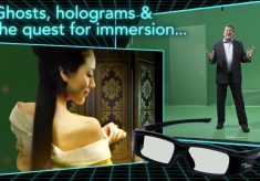 Ghosts, holograms, and the quest for immersion