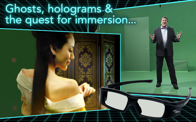 Ghosts, holograms, and the quest for immersion 3