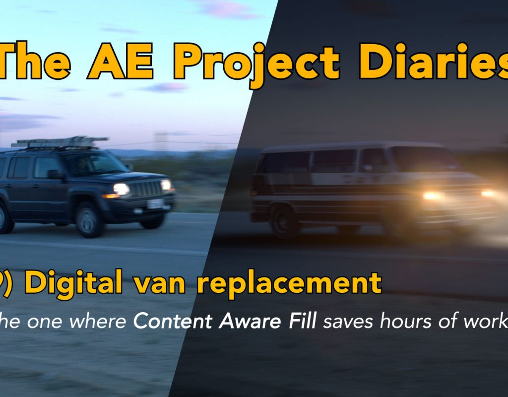 AE Project Diary: 9) Digital van replacement 1