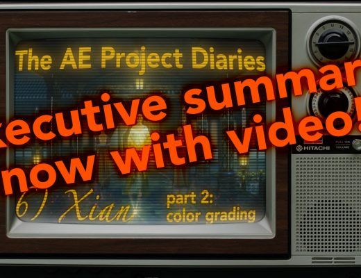 AE Project Diary: 6) Xian part 2: With Video! 42