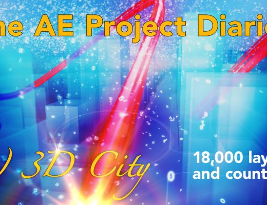 AE Project Diary: 8) 3D City 11