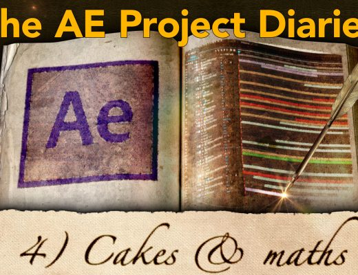 AE Project Diary: 4) Mixing up a cake with maths 8