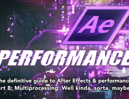 After Effects & Performance. Part 8: Multiprocessing (kinda sorta) 3