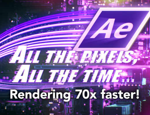 After Effects: Making a composition render 70 x faster 8