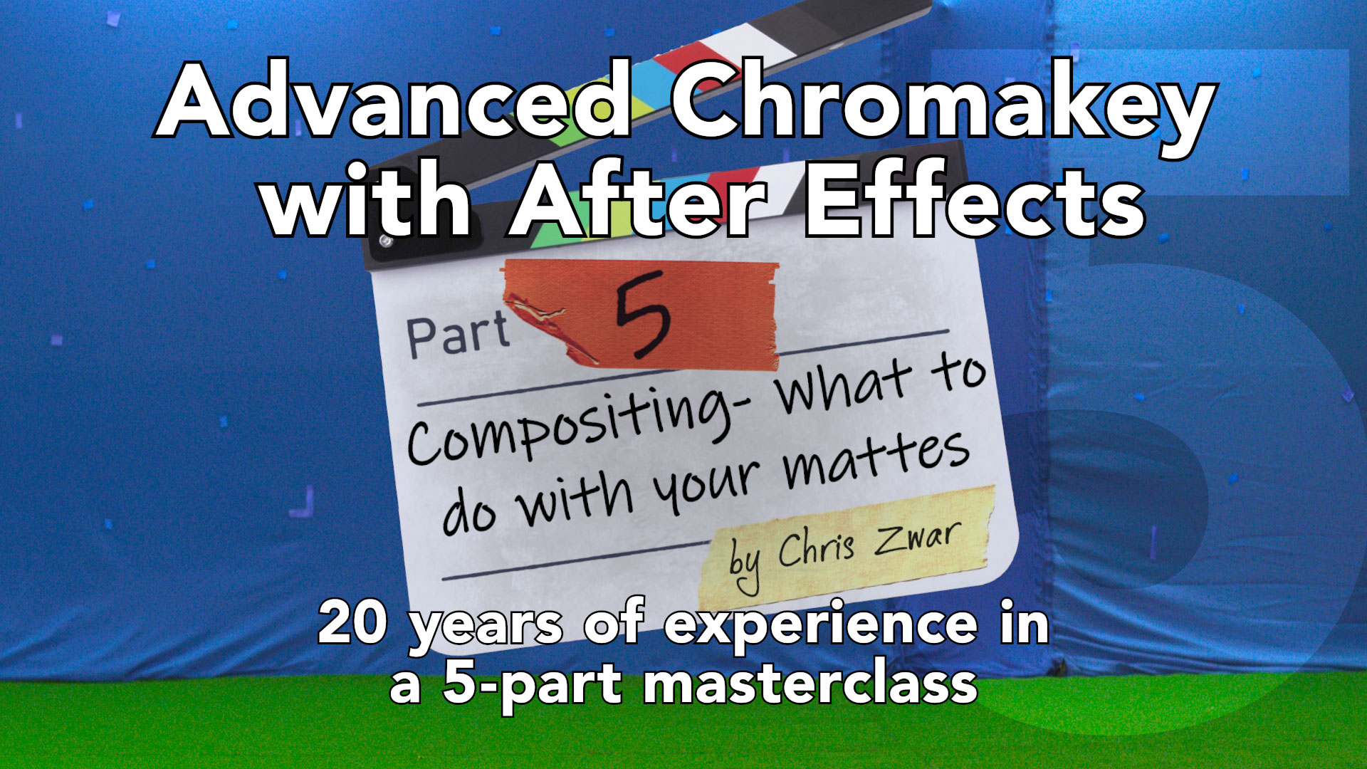 Advanced keying with After Effects: Part 5 by Chris Zwar