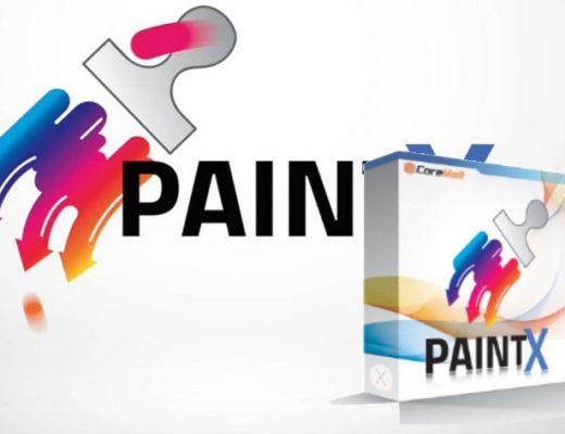 PaintX, a paint utility software for FCPX
