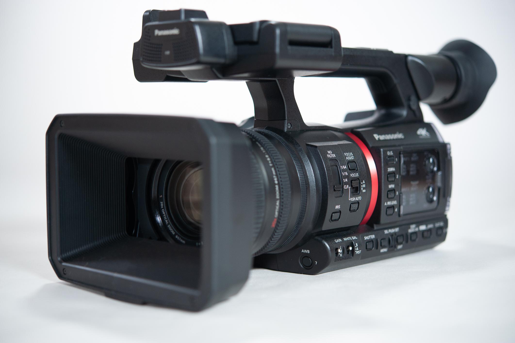 Panasonic AG-CX350 4K Single-Lens Camera Review