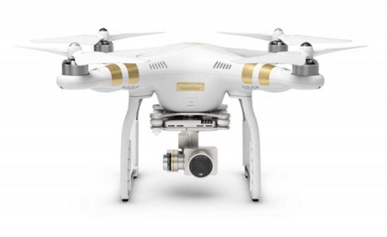 DJI Announces the Phantom 3 in 4K 5