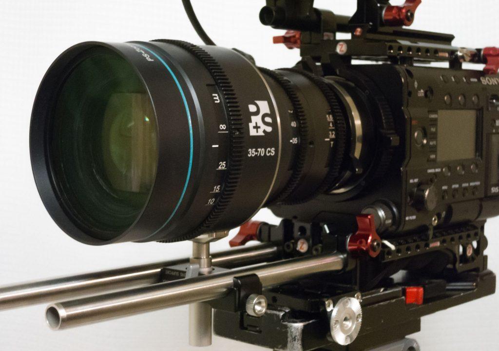 P + S Technik's 1.5x 35-70mm Anamorphic Zoom 1