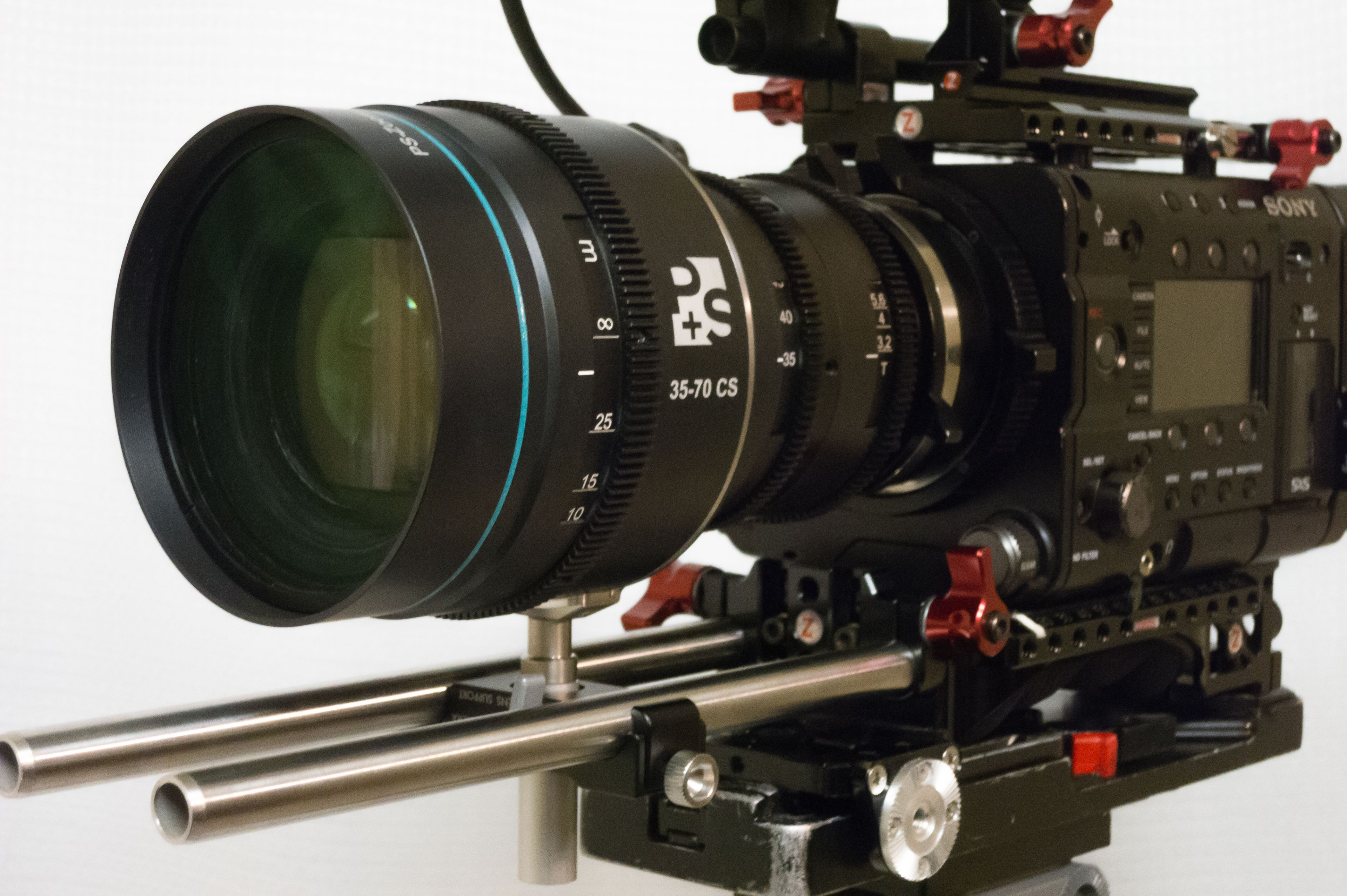 P + S Technik's 1.5x 35-70mm Anamorphic Zoom 10