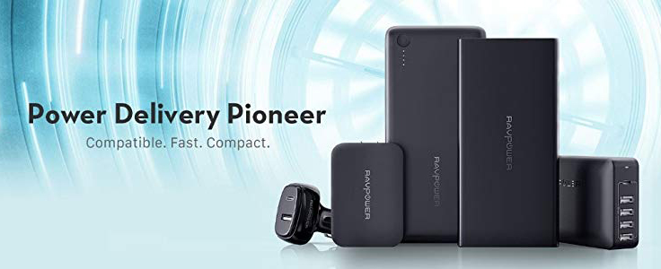 Product Review: RAVPower Portable Chargers & Power Banks by Jeff