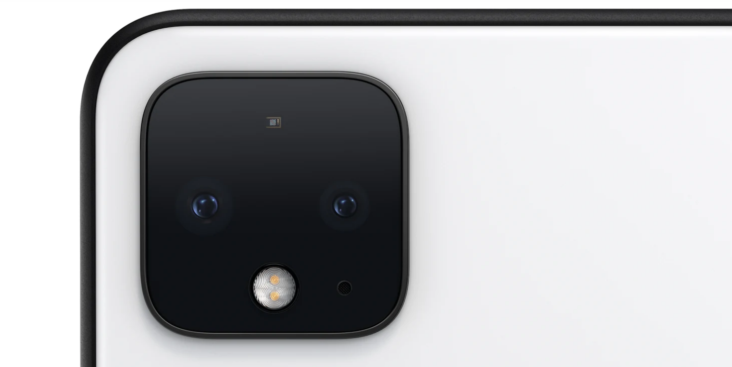 Google Pixel 4 phone with multi-cameras, 3 mics & radar! 9