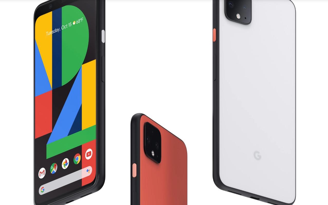 Google Pixel 4 phone with muti-cameras, 3 mics & radar!