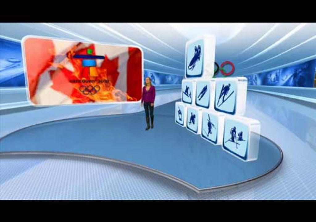 Plazamedia and Vizrt Show Germany's First Real-time 3D Stereoscopic