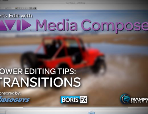 Let's Edit with Media Composer - Power Editing Tips - Transitions 21